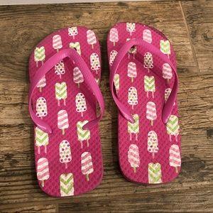 Popsicle flip flops